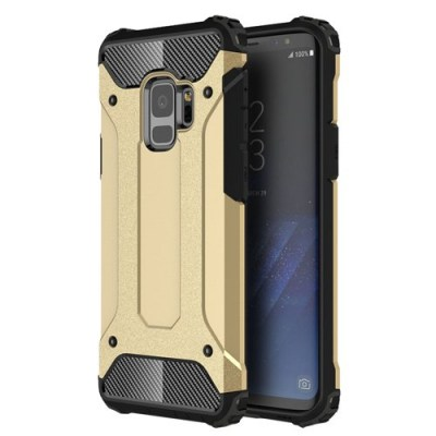 Hybrid Armor Case Tough Rugged Cover Χρυσό (Samsung Galaxy s9)