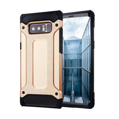 Hybrid Armor Case Tough Rugged Cover Xρυσό (Samsung Galaxy Νote 8)