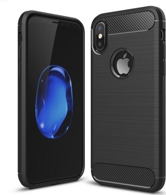 brushed carbon iphone x black